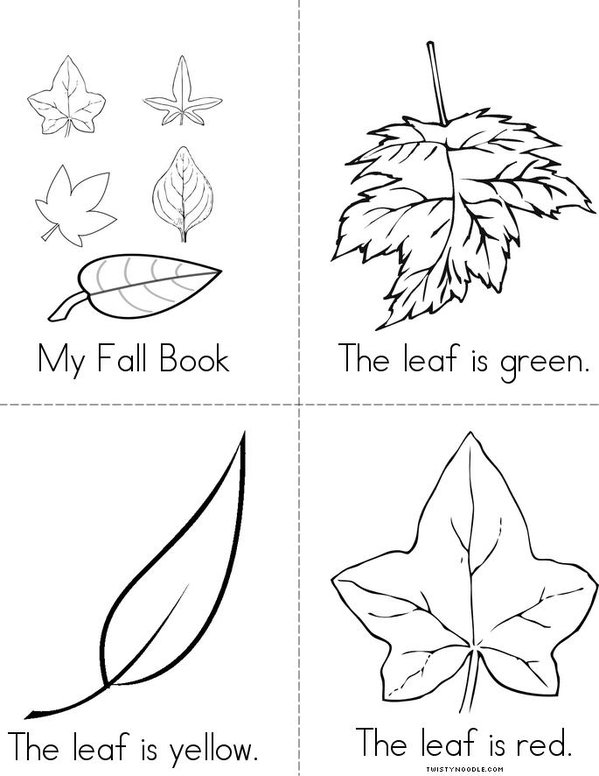 Autumn Mini Book