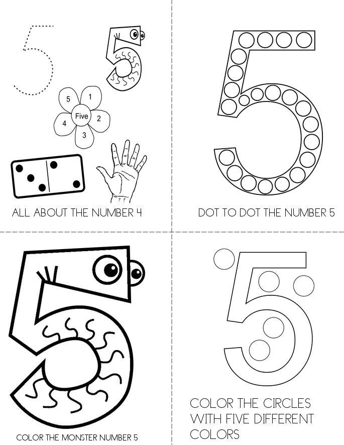 NUMBER 5 Book - Twisty Noodle