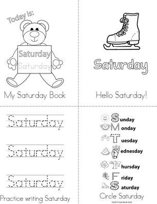 My Saturday Book