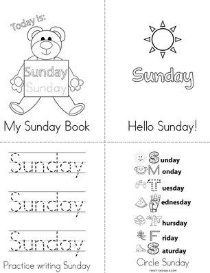 My Sunday Book