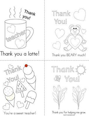 Thank You! Book