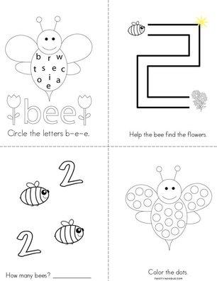Bee Activity Book
