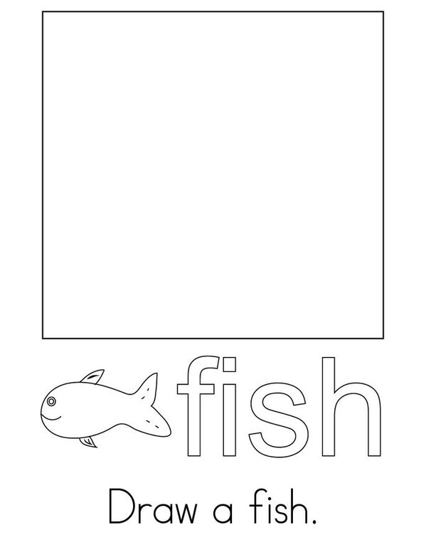 Fish Activity Book Mini Book - Sheet 2