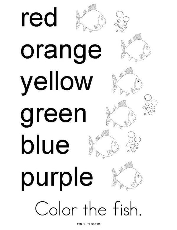 Fish Activity Book Mini Book - Sheet 4