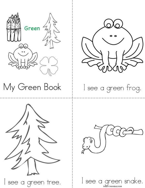 My Green Book Mini Book
