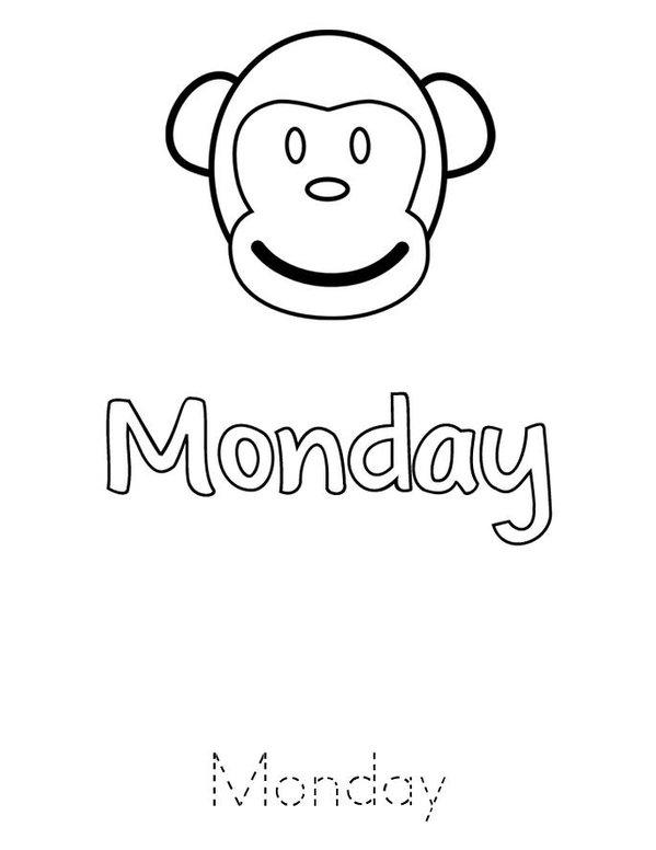 Days of the Week Mini Book - Sheet 3