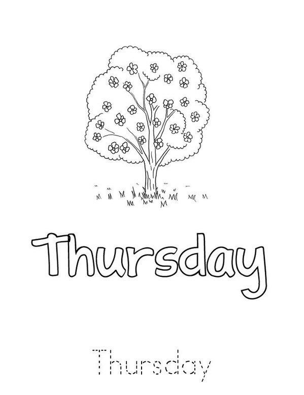 Days of the Week Mini Book - Sheet 6