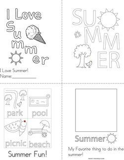 I Love Summer Book