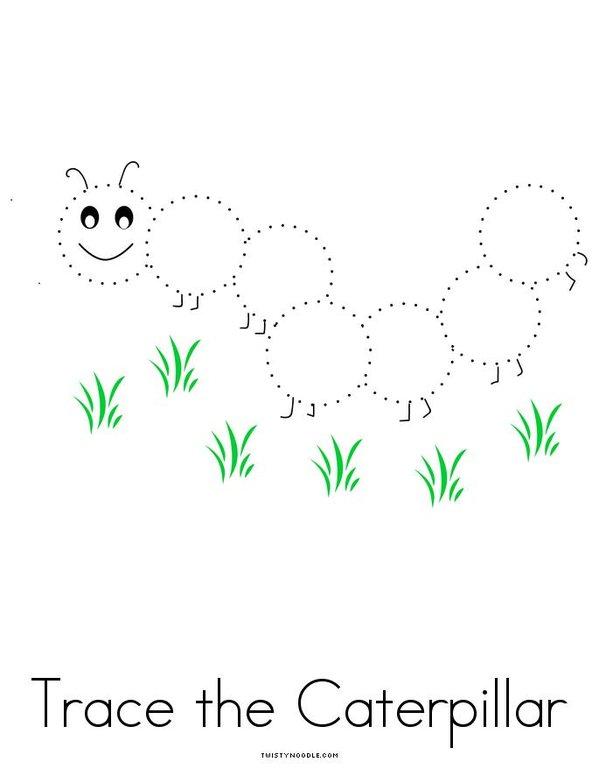 Caterpillar Activity Book Mini Book - Sheet 4