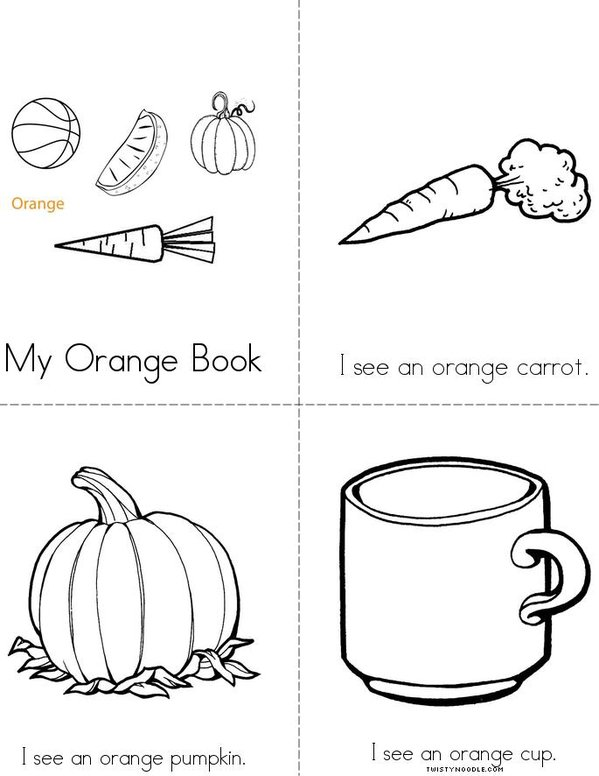 My Orange Book Mini Book