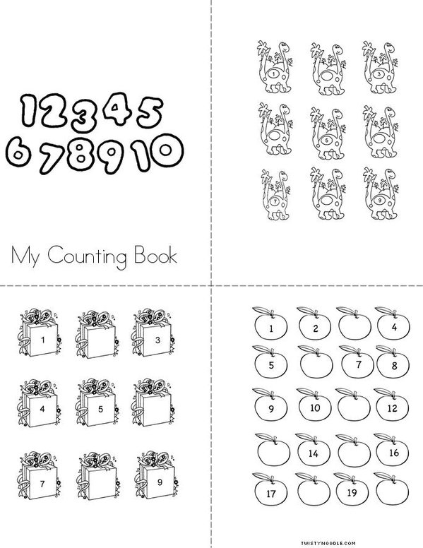 Counting Mini Book