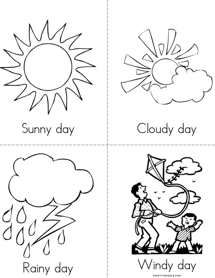 How is the weather today book twisty noodle for Coloring pages weather