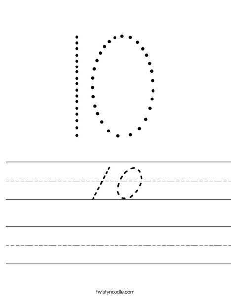 10 Worksheet