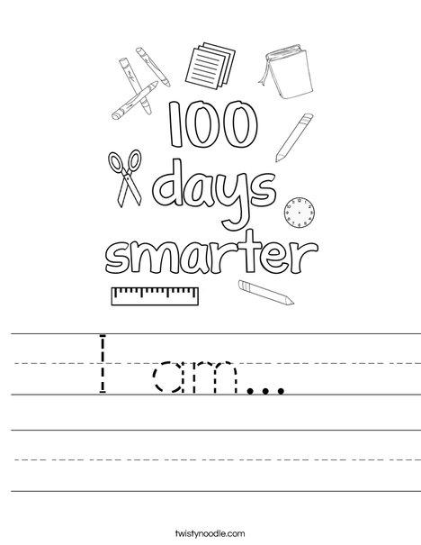 100 days smarter Worksheet