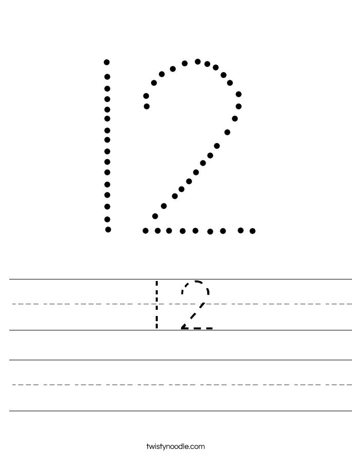 12 Worksheet