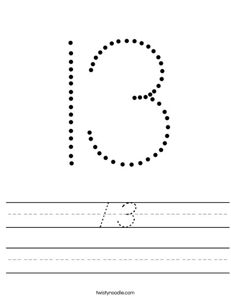 13 Worksheet