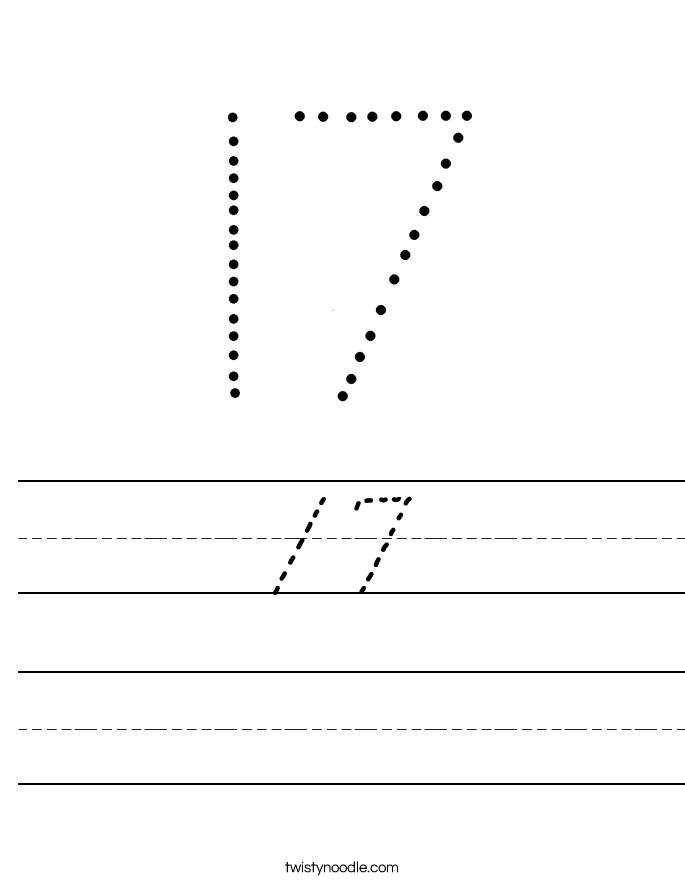 17 Worksheet