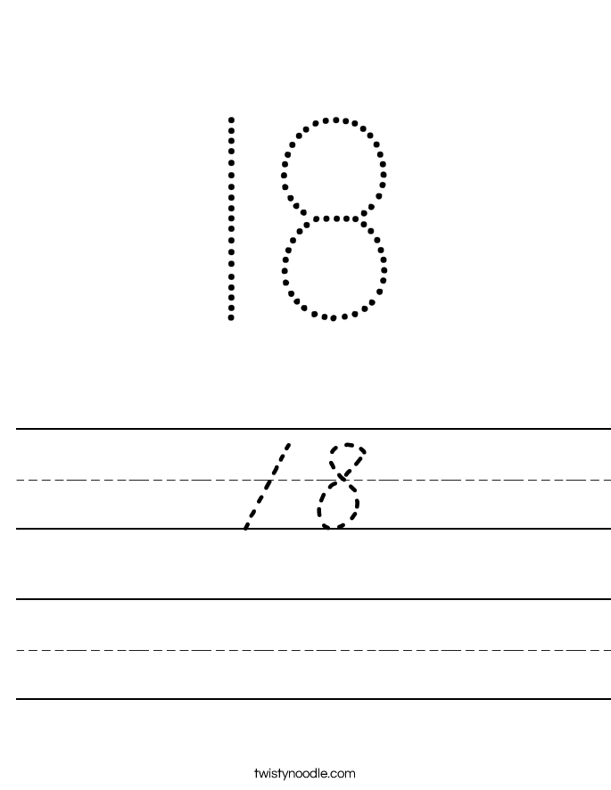 18 Worksheet