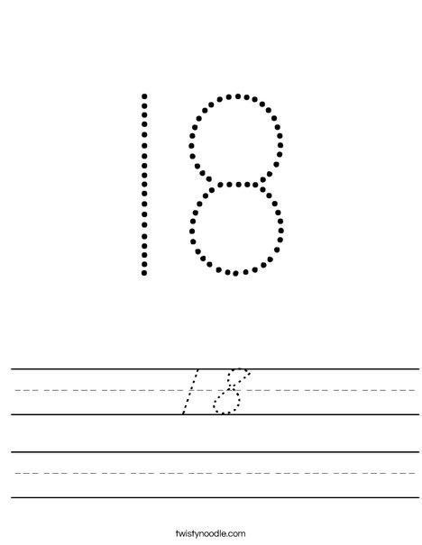 18 Worksheet