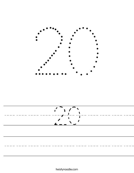 20 Worksheet