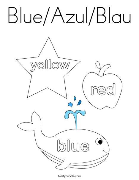 3 Big Crayons Coloring Page
