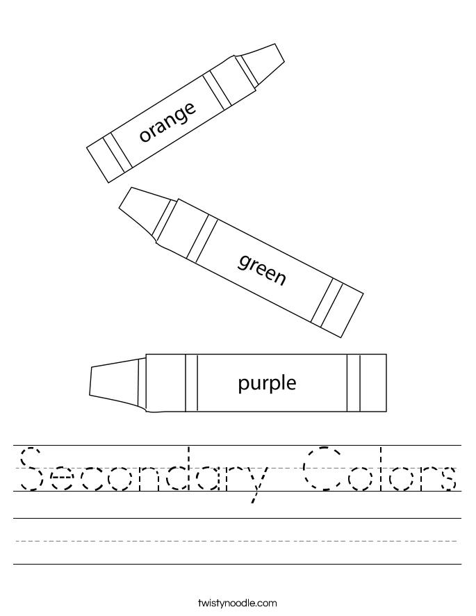 Worksheet On Primary Colors Coloring Pages. Secondary Colors Worksheet Twisty Noodle Color Theory Wheel. Worksheet. Color Yellow Worksheets At Mspartners.co