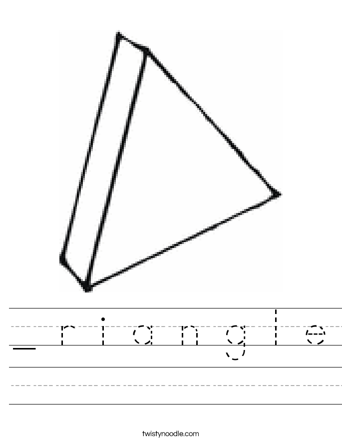 _ r i a n g l e Worksheet