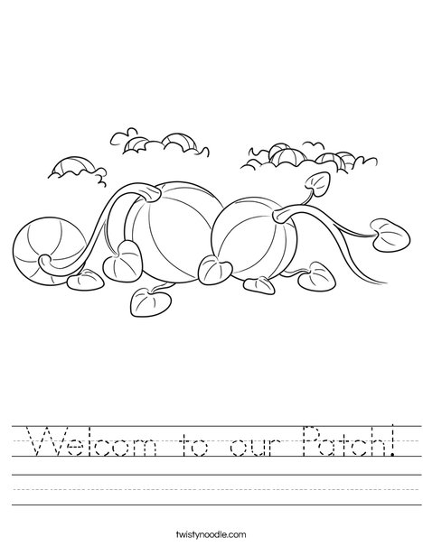 3 Pumpkins Worksheet