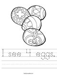 I see 4 eggs. Worksheet