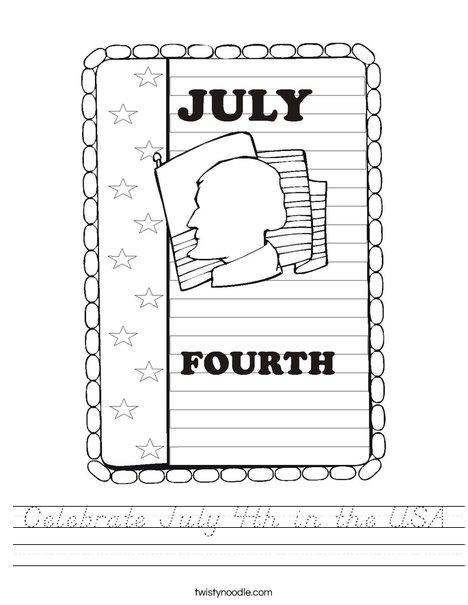 4th of July Worksheet