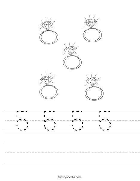5 Rings Worksheet