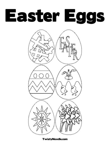 easter eggs pictures for colouring. easter eggs colouring pages to