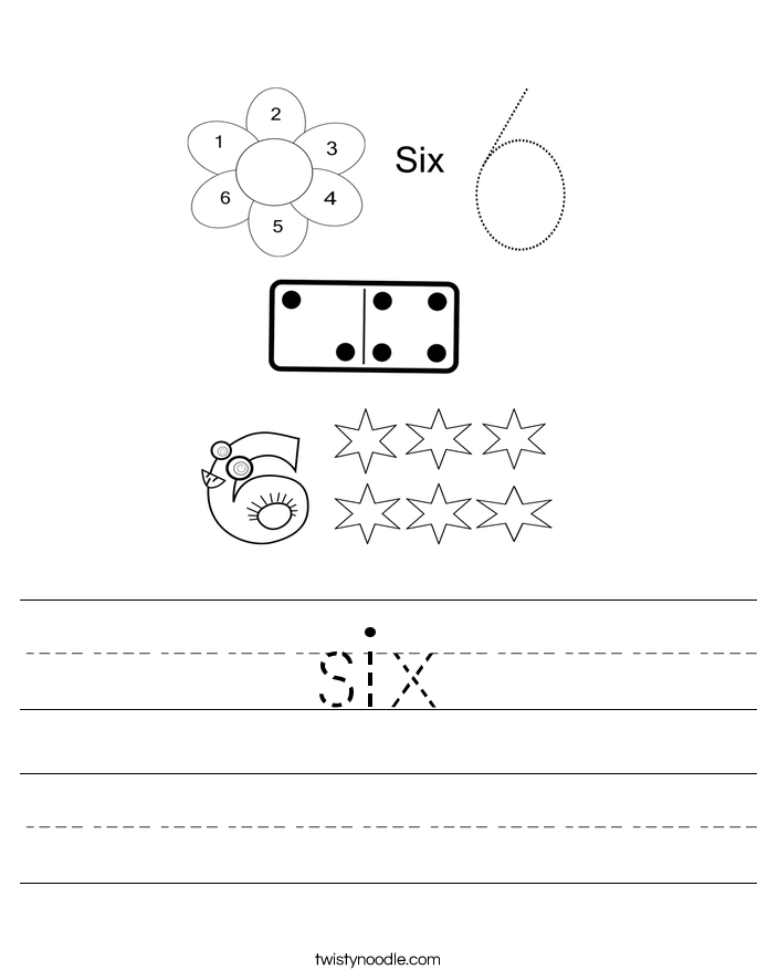 six Worksheet