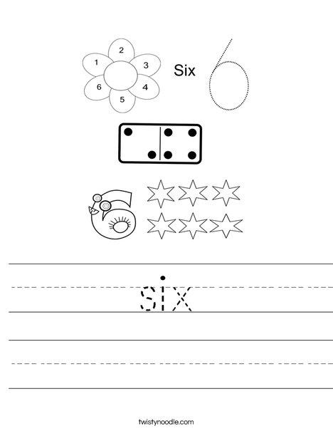 6 Worksheet