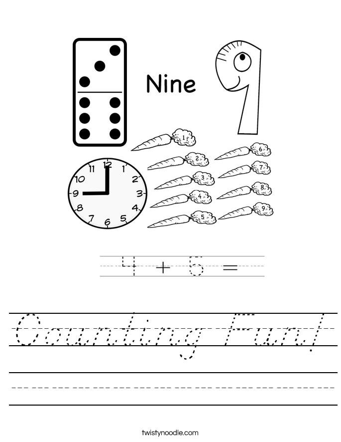 Counting Fun! Worksheet