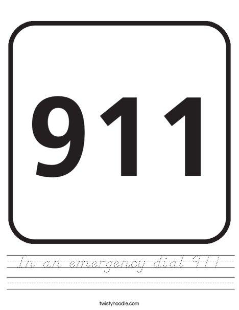 911 Worksheet