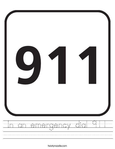 911 Worksheet