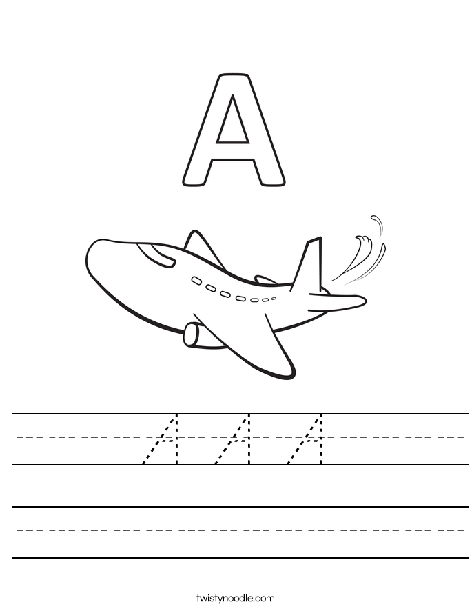 A A A Worksheet