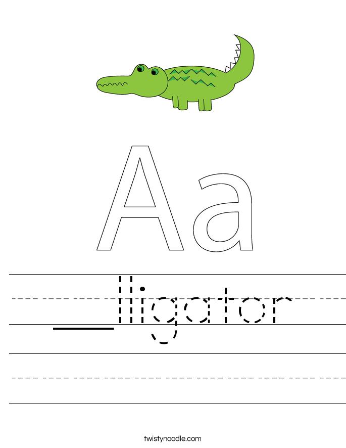 __lligator Worksheet