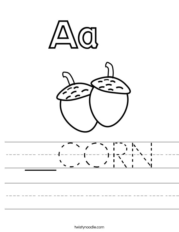 __CORN Worksheet