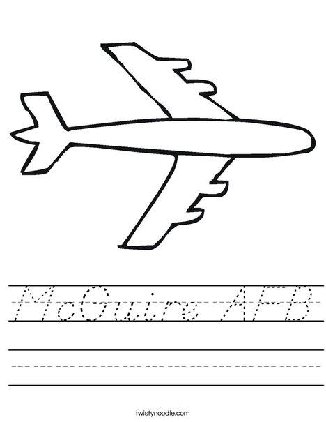 Plane Worksheet