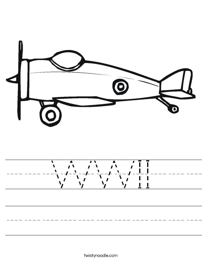 WWII Worksheet