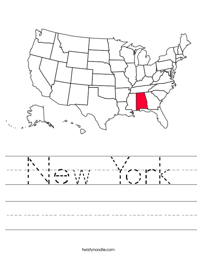 New York Worksheet