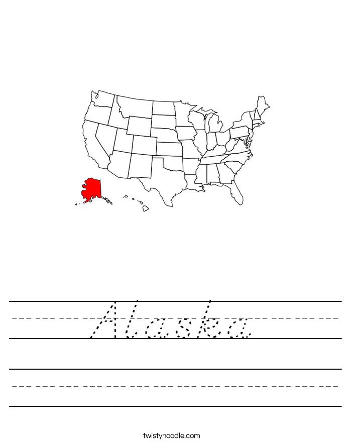 Alaska Worksheet