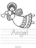 Angel Worksheet