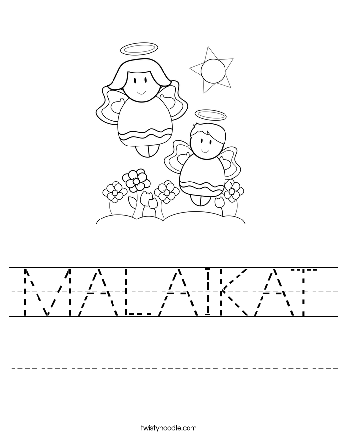 MALAIKAT Worksheet