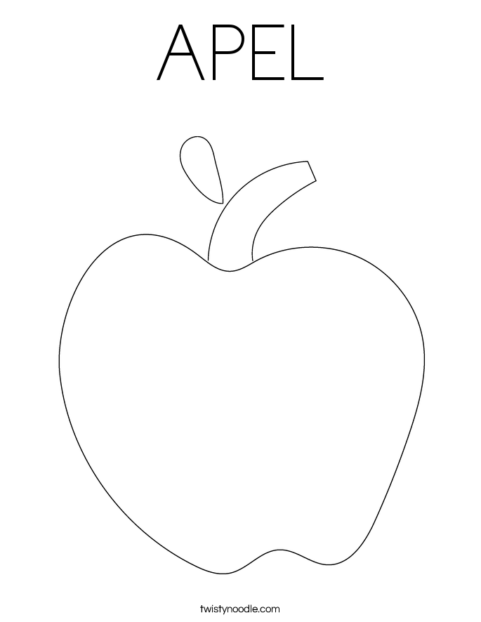 APEL Coloring Page