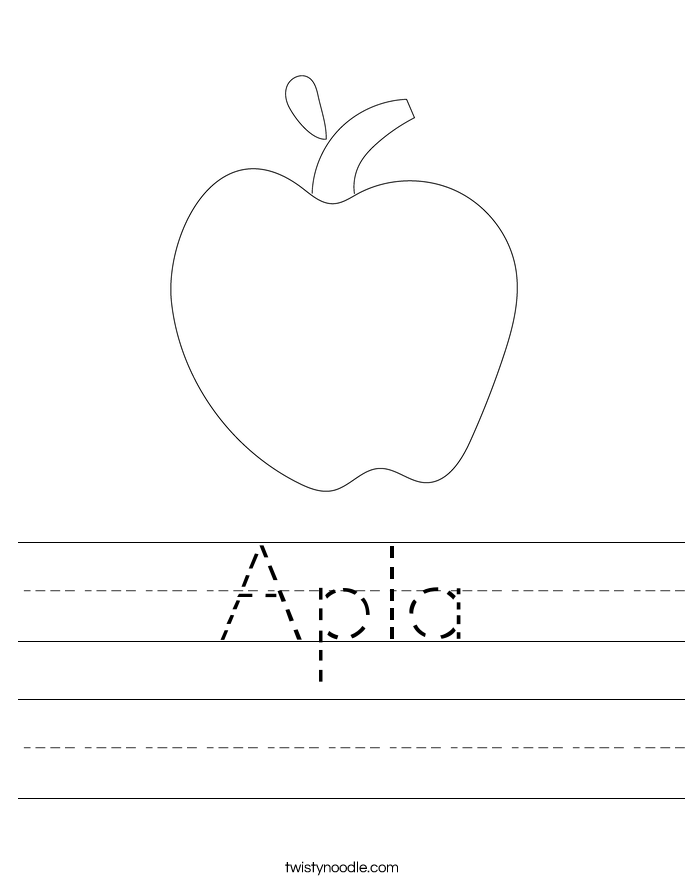 Apla Worksheet