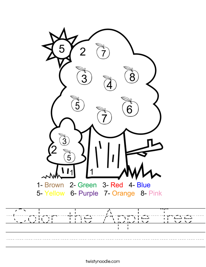 Pics Photos - Apple Tree Worksheet Apple Tree Worksheet Pdf