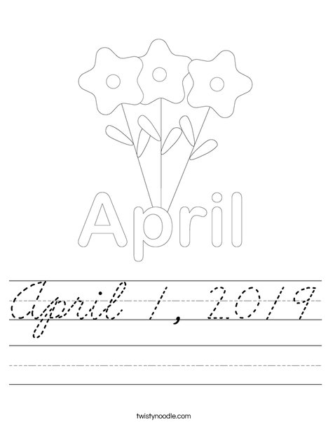 April 1 Worksheet